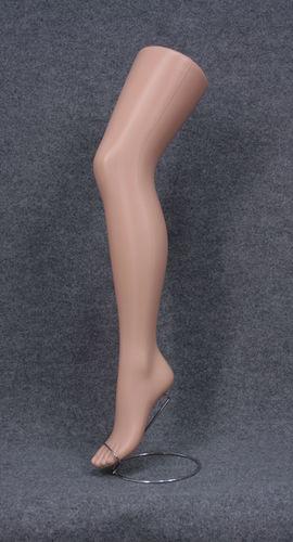 035 GAMBA PORTACALZE COLLANT 110PC - Gambe portacalze collant colore carne completa di basetta