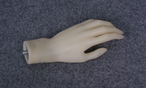 035 MANO SX 11D - Mano in PVC da donna