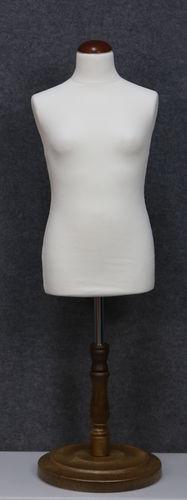 035 SARTORIA BAMBINA 1012B BI TO6PLMAR - Manichino sartoriale colore bianco da bambina 10-12 anni