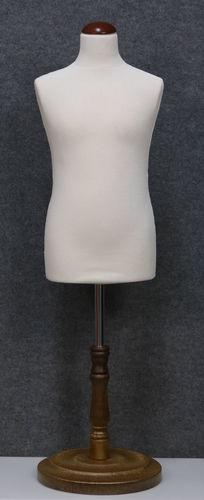 035 SARTORIA BAMBINO 1012B BI TO6PLMAR - Manichino sartoriale colore bianco da bambino 10-12 anni