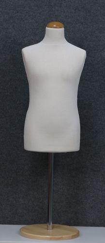 035 SARTORIA BAMBINO 1012B BI TOME - Manichino sartoriale colore bianco da bambino 10-12 anni