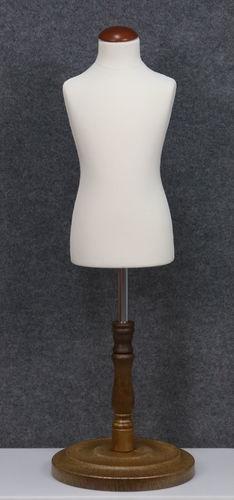 035 SARTORIA BAMBINO 346B BI TO6PLMAR - Manichino sartoriale colore bianco da bambino 3-4-6 anni