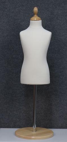 035 SARTORIA BAMBINO 346B BI TOME - Manichino sartoriale colore bianco da bambino 3-4-6 anni