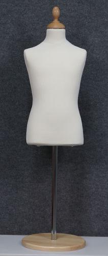 035 SARTORIA BAMBINO 68 BI TOME - Busto sartoria colore bianco da bambino circa 6-8 anni