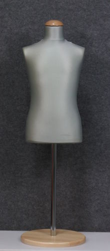 035 SARTORIA BAMBINO 68 GRCH TOME - Busto sartoria colore grigio chiaro da bambino circa 6-8 anni
