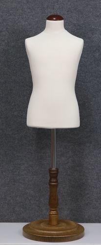 035 SARTORIA BAMBINO 68B BI TO6PLMAR - Manichino sartoriale colore bianco da bambino 6-8 anni