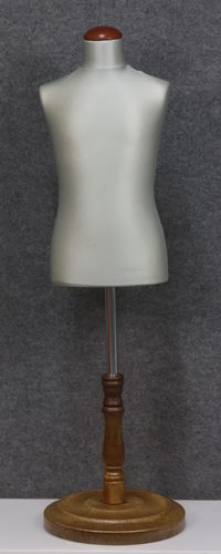 035 SARTORIA BAMBINO 68B GRCH TO6PLMAR - Manichino sartoriale colore grigio chiaro da bambino 6-8 anni