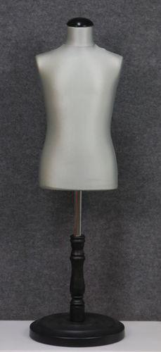 035 SARTORIA BAMBINO 68B GRCH TO6PLNE - Manichino sartoriale colore grigio chiaro da bambino 6-8 anni