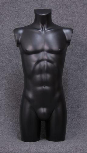 035 TORSO 27B NE - Torso colore nero da ragazzo in plastica con spalle