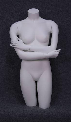 035 TORSO DUO 3D - Torso donna con braccia in vertoresina