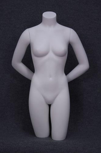 035 TORSO DUO 4D - Torso donna con braccia in vertoresina