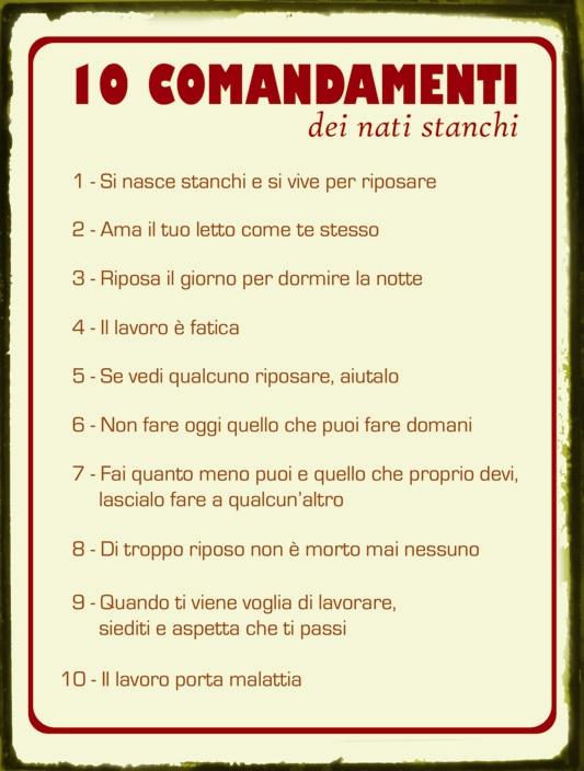 i 10 comandamenti spaccanapoli bologna - photo#5