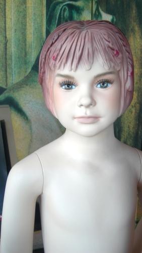 0557 arredamento manichino bambina realistico testa for Forum arredamento galleria fotografica