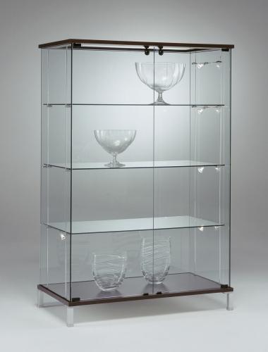 Vetrina di vetro per esposizione pannelli decorativi for Vetrina in vetro