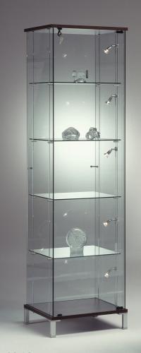Foto m 0635 vetrina faretti ripiani vetro for Vetrina in vetro