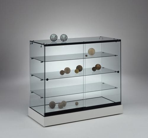 0643 vetrina ripiani vetro espositore for Vetrina in vetro