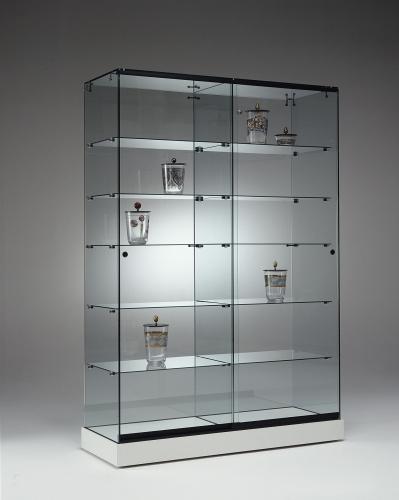 0660 vetrine ripiani vetro arredamento negozi espositori for Arredamento vetrine