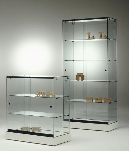 0661 vetrine ripiani vetro espositori arredamento negozi for Ikea vetrine in vetro