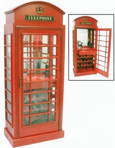 0724 cabina telefonica bar for Cabina telefonica inglese arredamento