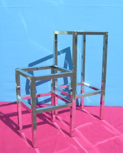 0854 strutture metallo sgabelli for Sgabelli per negozi