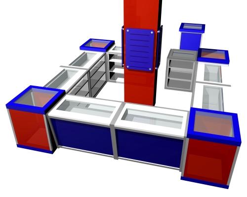 1154 banco vendita espositori display arredamento negozi for Arredamento vendita