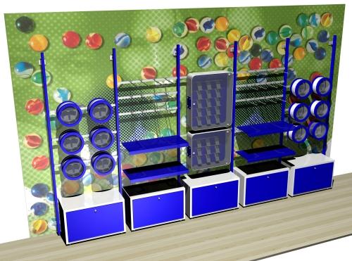 1190 arredamento negozi bambini stender ripiani espositori for Arredamento bambini
