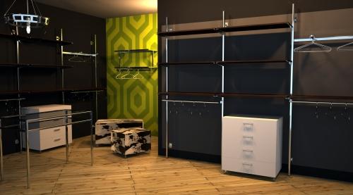 1398 arredamento negozi appenderia tavolo appendiabiti for Forum arredamento galleria fotografica
