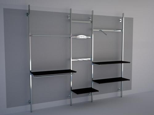 Foto m 1399 arredamento negozi appenderia appenderia - Appendiabiti per cabina armadio ...