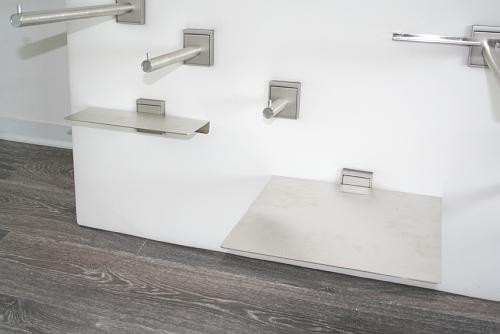 5221 arredamento serie quadro appenderia gancio piano for Arredamento acciaio inox