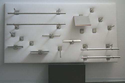 5224 acciaio inox satinato arredamento serie quadro for Arredamento acciaio inox