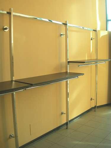 7198 arredamento negozio usato struttura a parete for Forum arredamento galleria fotografica