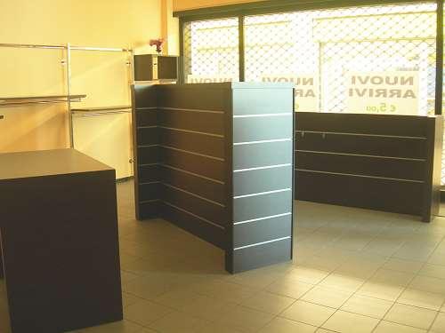 7205 arredamento negozio usato maxi gondola for Arredamento per ufficio usato