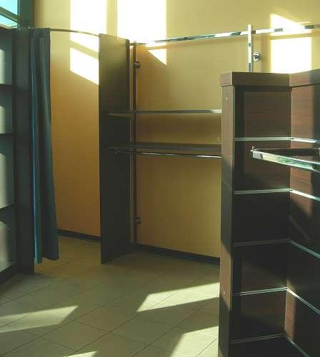 7214 arredamento negozio usato camerino
